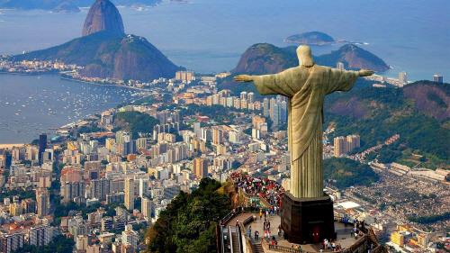 브라질 리우데자네이루의 상징 '예수상'