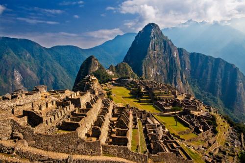 페루의 공중도시 '마추픽추' 전경